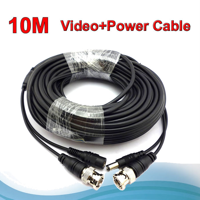 New ! 33 Feet video cable , 10 meters BNC RCA CCTV cable<br><br>Aliexpress