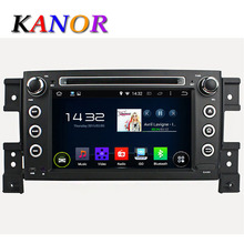 Android 5.1 Car DVD Player For Suzuki Grand Vitara 2005-2011 Radio Cassette Recorder GPS Navigator SWC Audio WIFI Map
