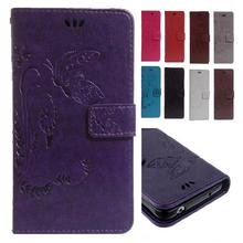 Flip Case for HTC Desire 816 G D816G Dual SIM D816h Butterfly Leather Case Wallet Flip Phone Cover for HTC Desire 816g desire816(China)