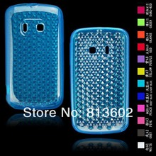 Free shipping DHL ,For Alcatel OT-983 Latest Diamond Style  Soft Gel TPU Resin Skin Back Cover Case,500pcs/lot