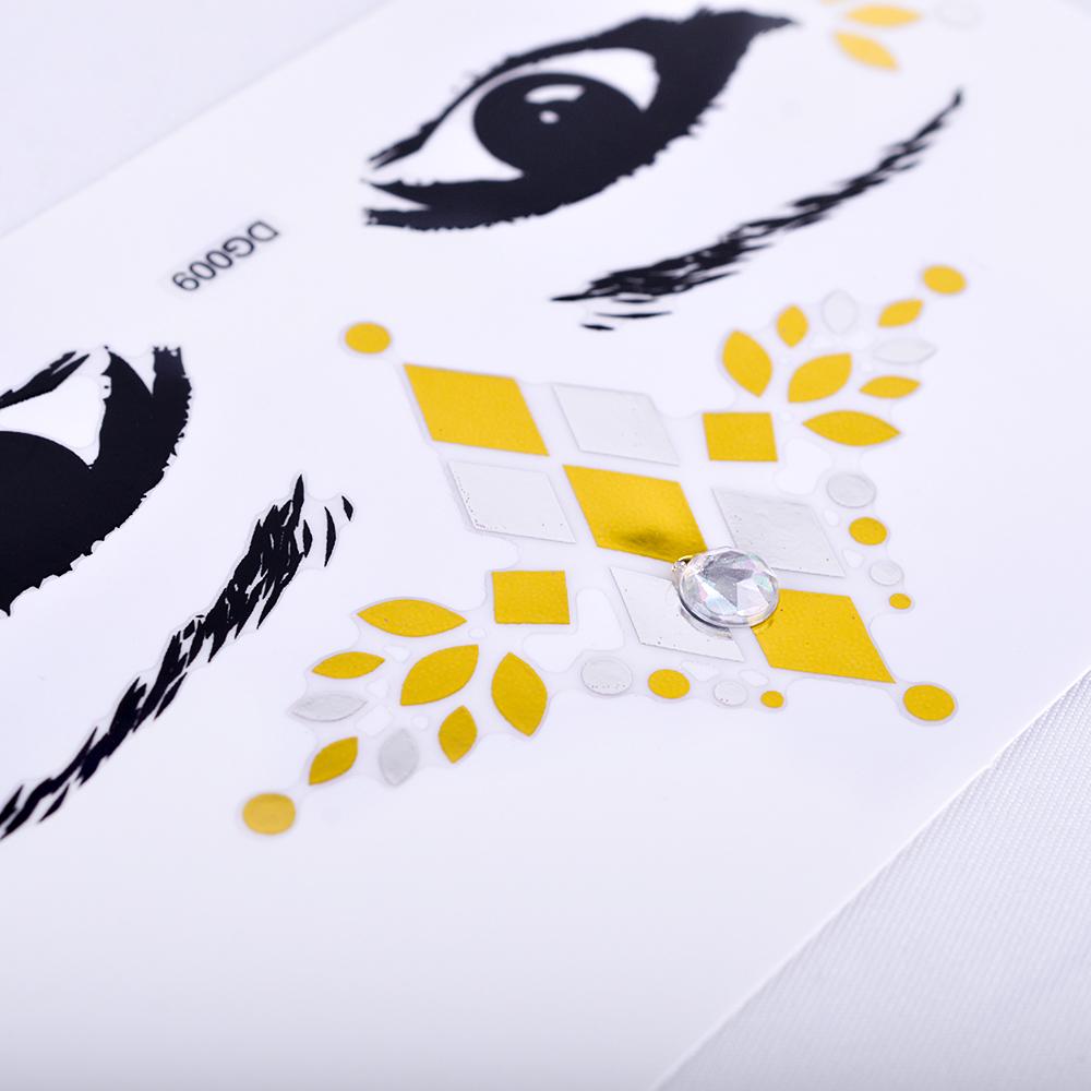 Eye Face Tattoo (5)
