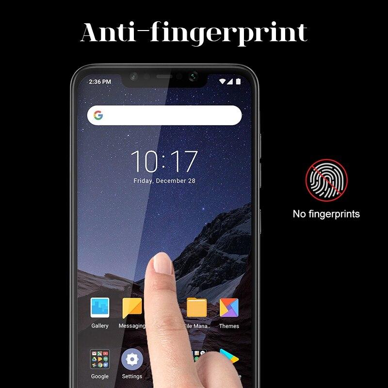 TOMKAS Xiaomi Pocophone F1Tempered Glass Scratch Proof Screen Protector For Xiaomi Mi 8 GlassProtectorXiaomi Mi 8 SE Glass