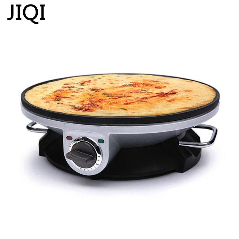 JIQI 320mm Diameter Single-side 220V-240V Pancake Maker Machine Non-stick Coating Pan<br>
