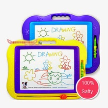 Oversized Kid Magnetic Writing Painting Graffiti Board Toy Preschool Tool Pull Wipe Drawing Board for Children(China)