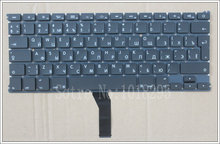 "NEW RU Keyboard For Macbook Air 13"" A1466 A1369 Russian Laptop keyboard MD231 MD232 MC503 MC504 2011-15 Years"