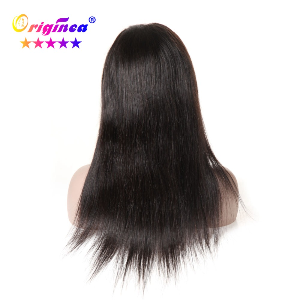 Originea Straight Lace Front Human Hair Wigs for Women Brazilian Remy Hair Glueless Lace Front Wig with Baby Hair Natural Black lace front human hair wigs wigs for black women lace front wig human hair wigs brazilian wig human hair wig wigs for women bob lace front wigs human hair lace front wigs black women short wigs for black women lace wig human hair brazilian hair wigs lace frontal wig straight lace front wig short wigs human hair