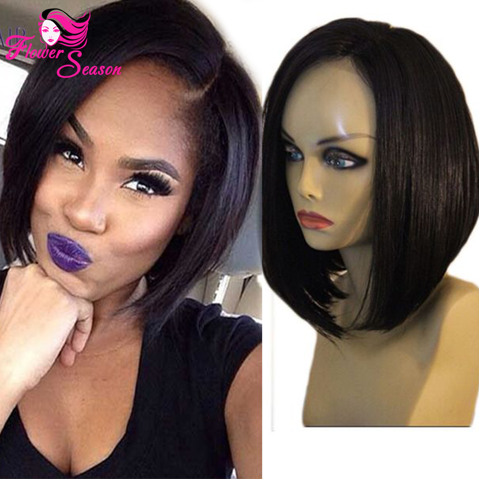High Quality Brazilian Short Bob Full Lace Wigs Human Hair Virgin Bob Wig Straight Glueless Lace Front Wigs Fashion Bob Style<br><br>Aliexpress