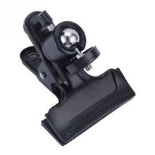 Camera Clip Photography Metal Clip Clamp Holder Mount with Standard Ball Head 1/4 Screw for Camera Flash Holder Bracket