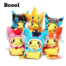 20-25cm Pikachu Cosplay X Charizard Magikarp Charmander Brinquedo Plush Toys Fashion Stuffed Animals Toy Doll(China)