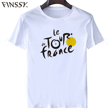 Art T Shirts for men Personal Men's Tees France Flag Le Tour de France T shirt Tour of Oman 2017 Hacks Top Feminina array s-xxxl(China)