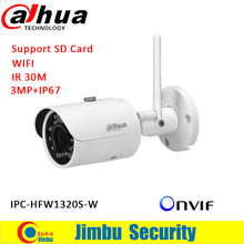 Dahua 3mp security camera IPC-HFW1320S-W IP wifi camera easy4IP P2P function  camera p2p IP Camera HFW1320S-W