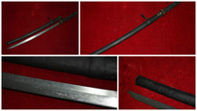 Collectable Old WWII Japanese Samurai Katana/ DAO/sword,Mikado marker,Leather sheath
