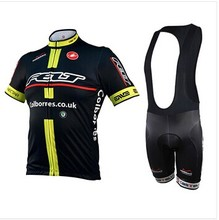 Felt Cycling Jersey + Cycling Bib Pants Kit Bike maillot bicycle apparel bib short set Ropa Ciclismo bicicletas maillot ciclismo