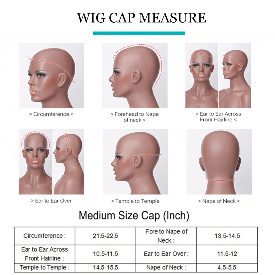 How to MEASURE WIG CAP