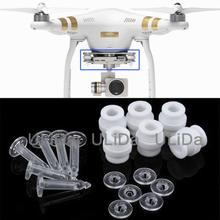 Damping Bumper Rubber Ball + Anti Drop Pin fr DJI Phantom 3 Vibration Isolator