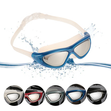 1PCS New Professional UV Protection Anti-Fog Swim Glasses Waterproof men women Swiming Goggles With Storage Case 5 Colors(China)