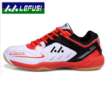 New Brand Men Badminton Shoes Professional Men Sneakers Breathable And Non Slip Table Tennis Shoes Big Size 39-45(China)