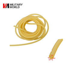 1m Length 3mm x 6mm Natural Latex Slingshots Rubber Tube Hunting Slingshot Tubing Band Replacement Catapult Rubber Tubes