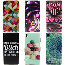 Cover For Sony Xperia Z3 D6603 D6643 D6653 D6616 L55T Z 3 Dual D6633 Case Soft Silicone TPU Ultrathin Mobile Phone  Housing Skin