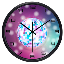 Disco Bar Wall Clock Factory Home decoration big modern design