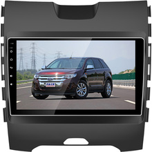 BEIDOUYH Android 9 inch Car DVD Player for Ford Edge 2015-2016 support Mirror link/APP Download/GPS Navigation/OBD/Rear View Cam