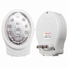 2W 13 LED Rechargeable Home Emergency Light Automatic Power Failure Outage Lamp Bulb Natural White 110-240V Night Light