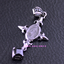 Each of the 925 silver activities Maria cross imported Silver Pendant