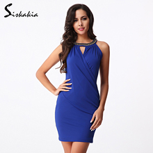 Siskakia Elegant short Party Dresses 2017 New arrival off shoulder summer sundresses Fashion Sexy bandage Club dress topshop