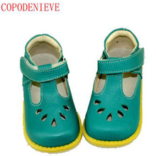 COPODENIEVE Style Brand Kids Sneaker Children Shoes Patent Leather Girl Flat Shoes Toddler Princess Shoes RiveT-strap Size 21-36(China)