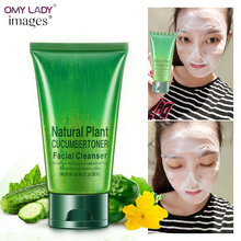 OMY LAD IMAGES Cucumber face cleanser Moisturizing Cleansing Oil cleaner Gel Deep Clean Shrink Pores Whitening face massage gel(China)
