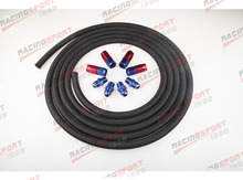 Nylon cover Racing Performance Automatic Transmission Cooler Line Kit NH-66441(China)