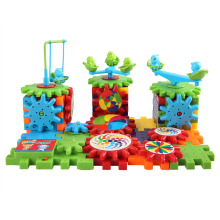 Brand Baby Toys Early Learning Educational Toys Building Block Bricks Electric Gear 81 PCs Set Boys Girls Present Gifts Toys