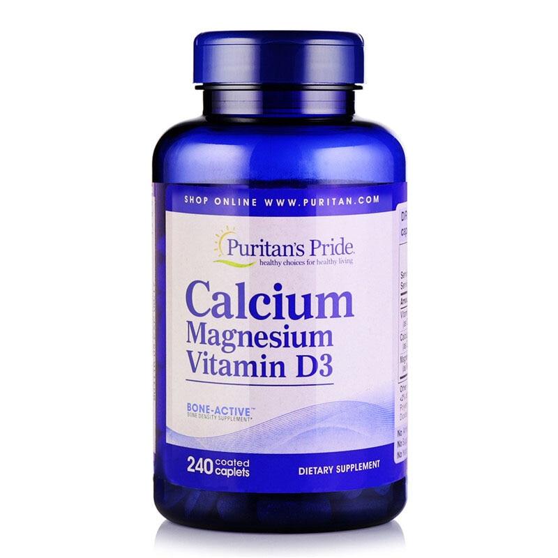 Calcium Magnesium Vitamin D3 240 pcs / 120 pcs free shipping<br>