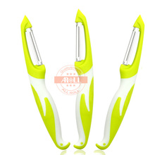 1PC Stainless Steel Peeler Zester Fruit Vegetable Peeler Knife Cutter Zester Grater Super Potato Peeler Kitchen Tool Gadgets(China)