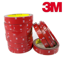 3M Double Sided Tape Sticker 30m x 8mm Acrylic Foam Adhesive Car Interior Exterior Accessories Tape(China)