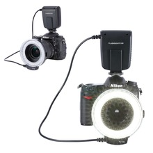 Neewer FC100 32 Super Bright LED Macro Ring Flash For Canon, Nikon,Olympus, Pentax SLR Cameras Fit 52, 55, 58, 62, 67, 72, 77mm
