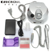 Professional Electric Nail File Drills Manicure Pedicure DIY Machine Nails Art Salon Set Kit Tools New High Quality
