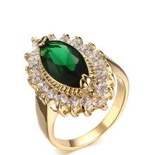 Ring Jewelry market trends rings jewelry copper zircon angel eyes Rings for women(China)