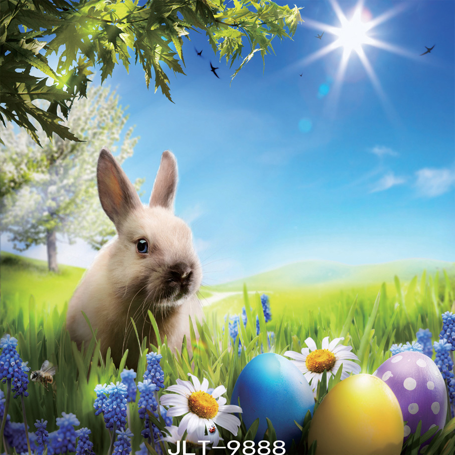 Easter backdrop Rabbit backgrounds for photo studio background photograph  photography-studio-backdrop  SJOLOON<br><br>Aliexpress