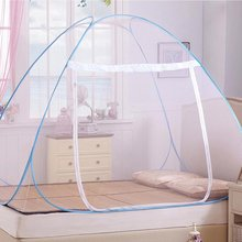 Foldable Mosquito Net 180cm Automatic Installation Mongolian Yurt Prevent Insect Pop Up Tent Curtains for Beds Bedroom Decor(China)