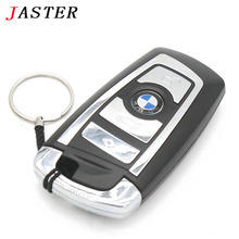 JASTER BMW Car key usb flash drive pendrive 32gb 16gb 8gb 4gb pen drive flash card memory stick u disk keychain gifts