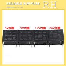 5PCS/lot Power relays HF32F JZC-32F-005-HS3 JZC-32F-009-HS3 JZC-32F-012-HS3 JZC-32F-024-HS3 5A 250VAC 4PIN(China)