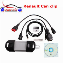 New Arrival V165 Renault Can Clip With Multi-Languages Auto Diagnostic Interface Clip Renault OBD OBD2 Diagnostic Tool(China)