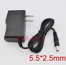 50PCS High quality AC 100V-240V Converter Switching power adapter DC 5V 1.5A 1500mA Supply US Plug DC 5.5mm x 2.1-2.5mm(China)