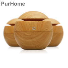 USB Air Humidifier Brisk Essential Oil Diffuser 130ml Aromatherapy diffuser Air Purifier Cold Mist Fragrance Mini Humidifiers