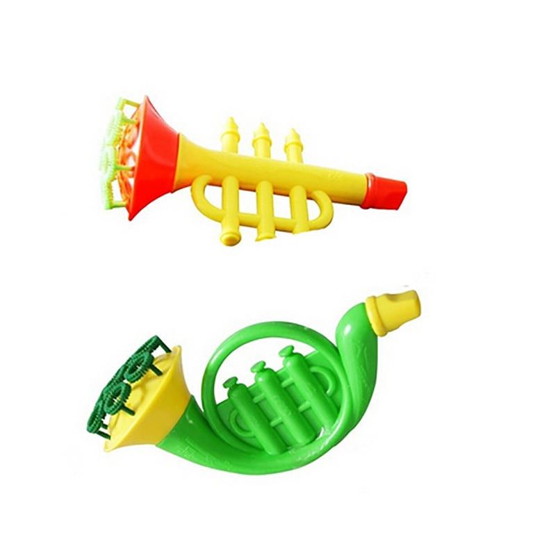 Random Color Water Blowing Toys Bubble Soap Bubble Blower Outdoor Kids Toys Parent-child Exchange interactive toy wholesale JE06 (2)