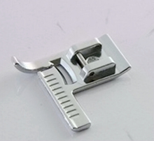 9913 STITCH GUIDE SEWING FOOT SNAP ON METAL, COMPATIBLE FOR BROTHER, JANOME, TOYOTA, NEW SINGER DOMESTIC FOOT MACHINES AA7016(China)