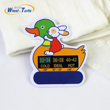 2017 Duck And Rabit Cartoon LCD Water Temperature Thermometer Baby Shower Thermometer Bath Thermometer Baby Bath Thermometer(China)