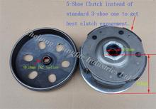 Performance 5-shoe Rear Clutch Pulley Assembly for LINHAI ATV UTV CUV ATV400 UTV400 Bighorn 400 Dragon Fly 400(China)