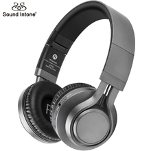 Sound Intone BT-08 Bluetooth Headphones Support 16G TF Card FM Radio Wireless Headphone With Mic Headsets For Xiaomi iPhone PC